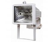 Прожектор галогенный 150W 230V R7S с лампой белый, 140*95*185мм