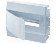 электрический щит ABB MISTRAL41 в нишу 12М белый белая дверь