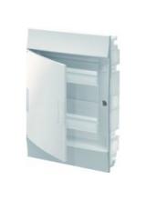 электрический щит ABB Mistral41 в нишу 24м белый белая дверь