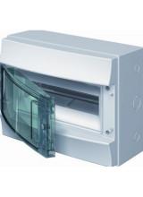 Влагозащищенный настенный бокс ABB Mistral65 4М прозрачная дверь