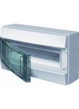 Влагозащищенный настенный бокс ABB Mistral65 8М прозрачная дверь