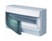 Влагозащищенный настенный бокс ABB Mistral65 12М прозрачная дверь