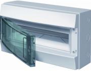 Влагозащищенный настенный бокс ABB Mistral65 18М прозрачная дверь