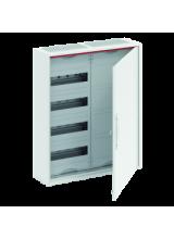 Шкаф 48 М навесной IP44, 650x550x160 с клеммами N/PE и  платой CA24PZRU