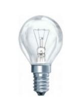 Лампа накаливания шарик прозрачная 60Вт E14