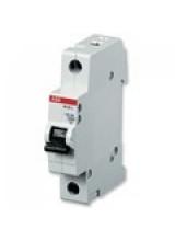 ABB автоматический выключатель 1 полюсный SH201 10А 4,5кА