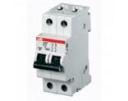 ABB автоматический выключатель SH202 6a 4,5кА 2 полюсный