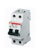 ABB автоматический выключатель SH202 20А 4,5кА  2 полюсный