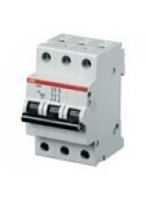 ABB автоматический выключатель 3 полюсный SH203 50А 4.5кА