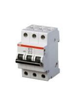 ABB автоматический выключатель 3 полюсный S203 80А  6кА