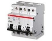 ABB автоматический выключатель 3 полюсный S803 80А 25кА