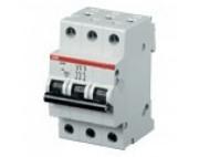 ABB автоматический выключатель 3 полюсный S203 100А  6кА