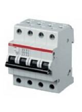 ABB автоматический выключатель 4 полюсный SH204 25А 4,5кА