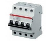 ABB автоматический выключатель 4 полюсный SH204 50А 4,5кА