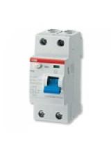 УЗО ABB FH202  2р 25A 100мА блок утечки тока