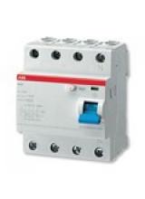 УЗО ABB FH204 4р 40А 30мА блок утечки тока