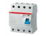 УЗО ABB FH204 4р 63А 30мА блок утечки тока