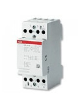 ABB Контактор модульный ESB25-40N-06 (25А АС-1, 4НО), катушка 230В AC/DC