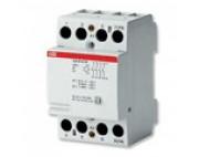 ABB Контактор модульный ESB40-40N-06 (40А АС-1, 4НО), катушка 230В AC/DC