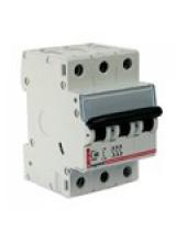 автоматический выключатель legrand 3 полюса 10 A 3M  тип С 407289