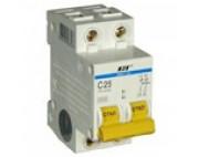 Автоматический выключатель IEK 2п 25А ВА 47-29