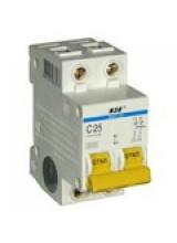 Автоматический выключатель IEK 2п 50А ВА 47-29