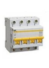 Автоматический выключатель IEK 4п 100А ВА 47-100
