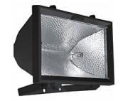 Прожектор галогенный 1000W 230V R7S с лампой, черный,275*150*305мм