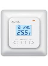 Терморегулятор для теплого пола AURA LTC 440 двухзонный электронный