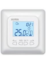 Терморегулятор для теплого пола AURA LTC 730 программируемый