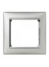 Legrand Valena алюминий рамка 1 постовая 770151