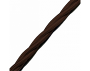 Ретро провод 3*1,5 коричневый