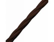 Ретро провод 3*2,5 коричневый