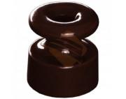 Изолятор коричневый керамический