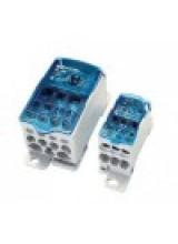 Блок распределительный на DIN-рейку РБД-500А (плоские шины от 3х15 до 8х24/2x35+5x16+4x10)