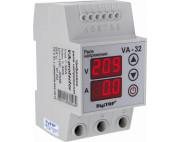 Реле напряжения с контролем тока VA 32A