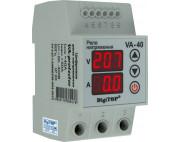 Реле напряжения с контролем тока VA 40А