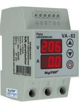 Реле напряжения с контролем тока VA 63А