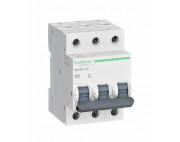 Автоматический выключатель Schneider electric. EASY 9 3П 25А С 4,5кА 400В