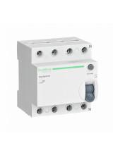 УЗО Schneider electric 4П 63А 30мА AC 230В