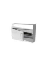 Бокс настенный Mistral41 18М непрозрачная дверь (с клемм)