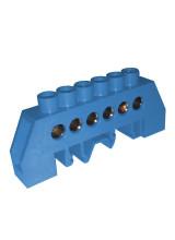 Шина в изоляции 6гр DIN-изолятор типа Стойка ШНИ-8х12-6-КС-С