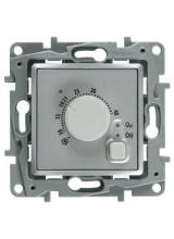 Legrand ETIKA терморегулятор алюминий 672430