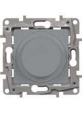 Legrand ETIKA светорегулятор 300вт алюминий 672419