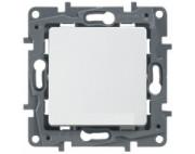 Legrand Etika выключатель одноклавишны белый 672201