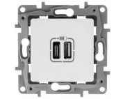 Legrand ETIKA розетка USB A/C 672236