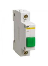 Лампа сигнальная ЛС-47 зеленая DIN 1P неон