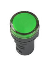 Лампа AD22DS LED матрица 22мм зеленый 230В