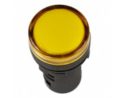 Лампа AD-22DS LED матрица 22мм желтый 230В