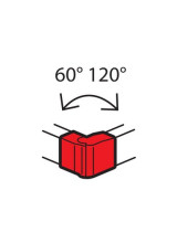 Угол внешний Metra 85x50мм (638022)
